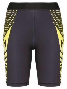 Givenchy logo print cycling shorts - Black