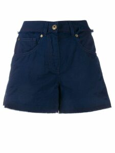 Mr & Mrs Italy mid rise denim shorts - Blue