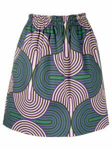 La Doublej Pouf geometric print skirt - SLINKY