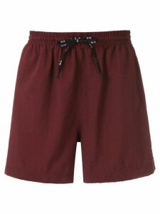 Àlg nylon shorts - Brown