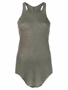 Rick Owens slim fit sheer tank top - Grey