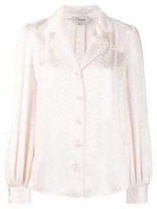 Temperley London long sleeve blouse - NEUTRALS