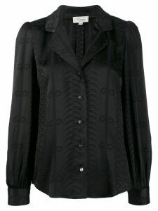 Temperley London long sleeve blouse - Black
