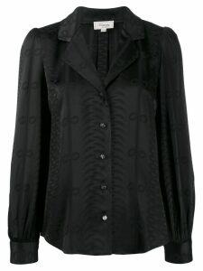 Temperley London long sleeve blouse - Black