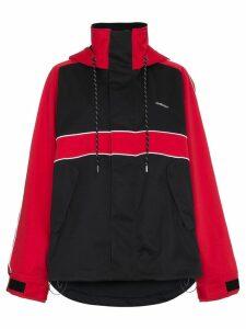 Ambush bi colour sport jacket - Black