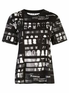 Proenza Schouler White Label PSWL Run of Show Short Sleeve T-Shirt -