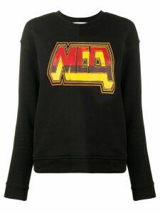 McQ Alexander McQueen logo print sweatshirt - Black