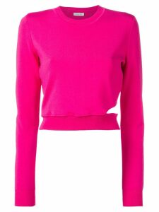 Mugler cut-out jumper - Pink