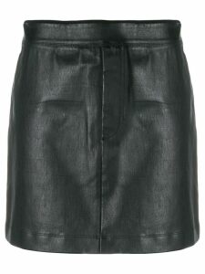 Helmut Lang stretch mini skirt - Black