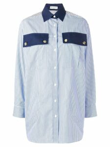 Sonia Rykiel classic striped shirt - Blue