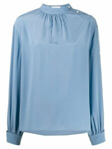Calvin Klein long-sleeved blouse - Blue