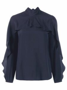 Red Valentino ruffled blouse - Blue
