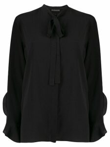 Etro ruffle trimmed blouse - Black