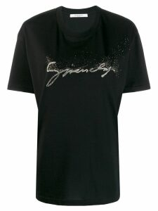 Givenchy embellished logo T-shirt - Black