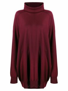 Maison Margiela oversized jumper - Red