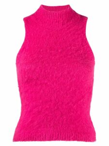 Versace fluffy knitted jumper - Pink
