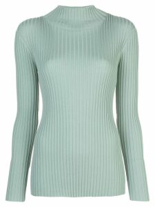 Partow ribbed knit jumper - Blue