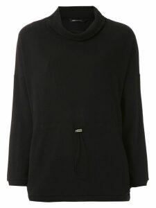 Uma Raquel Davidowicz Alga high neck top - Black