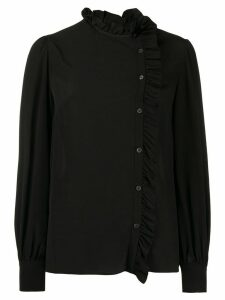 Miu Miu frill trim blouse - Black