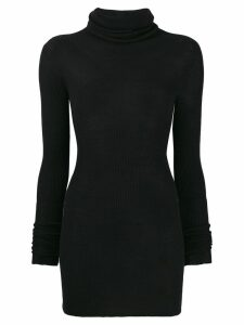 Rick Owens crushneck jumper - Black