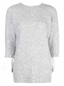 3.1 Phillip Lim layered sweatshirt - Grey