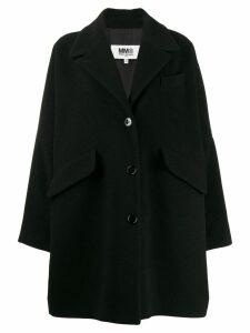 Mm6 Maison Margiela oversized coat - Black