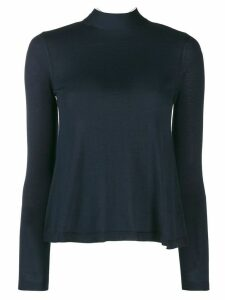 Red Valentino high neck jumper - Blue