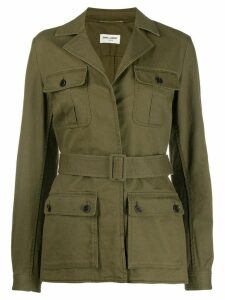 Saint Laurent YSL Sahar jacket - Green