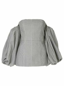 Acler Gleston bodice - Grey