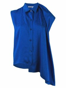 Balenciaga sleeveless blouse - Blue