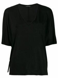 Luisa Cerano V-neck blouse - Black