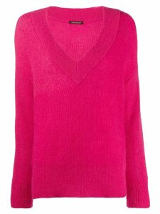 Luisa Cerano v-neck sweater - Pink