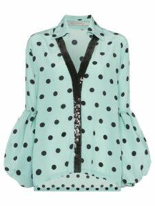 Silvia Tcherassi Blythe polka-dot print blouse - Blue
