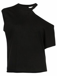 RtA Axel cut-out T-shirt - Black