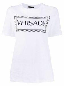 Versace logo printed T-shirt - White