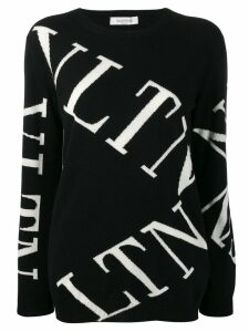 Valentino VLTN knitted jumper - Black