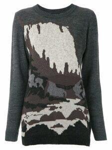 Alcaçuz Jardine knitted top - Grey