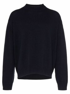 Jil Sander chunky knit wool jumper - Blue