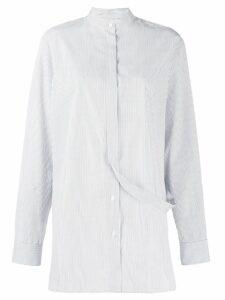 Jil Sander strap detail shirt - White