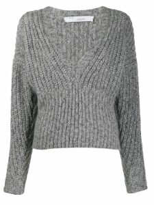 IRO knitted long sleeve jumper - Grey