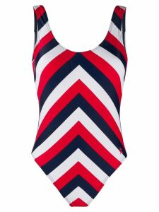 Perfect Moment Chevron one piece - Red