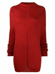 Rick Owens long jumper - Red