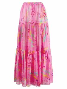 Giada Benincasa printed skirt - PINK