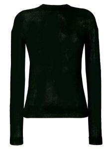 Rick Owens semi-sheer jumper - Black