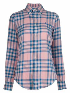 Polo Ralph Lauren plaid long-sleeve shirt - Blue
