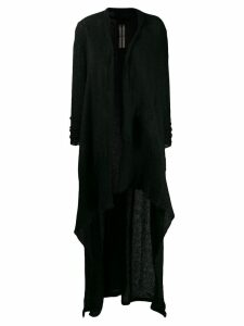 Rick Owens long cardigan - Black