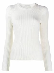 3.1 Phillip Lim Ribbed Sweater - White