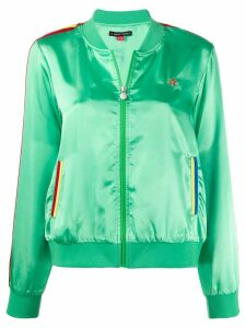 Perfect Moment side stripes bomber jacket - Green
