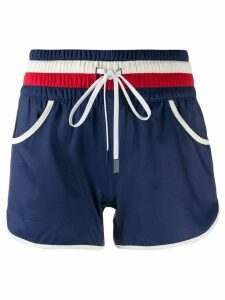 Perfect Moment drawstring resort shorts - Blue