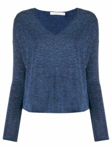 Rag & Bone V-neck long-sleeved top - Blue